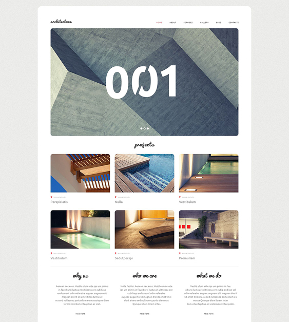 architecture bureau architect wordpress themes