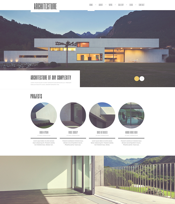 architecture guru architect wordpress themes