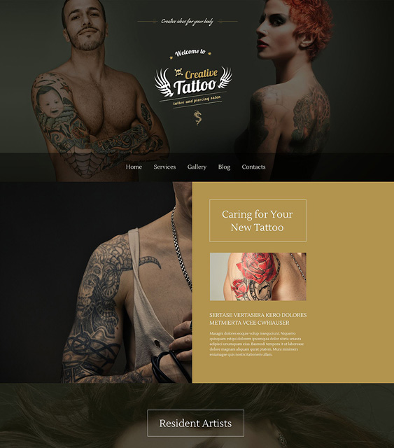 creative dark wordpress themes