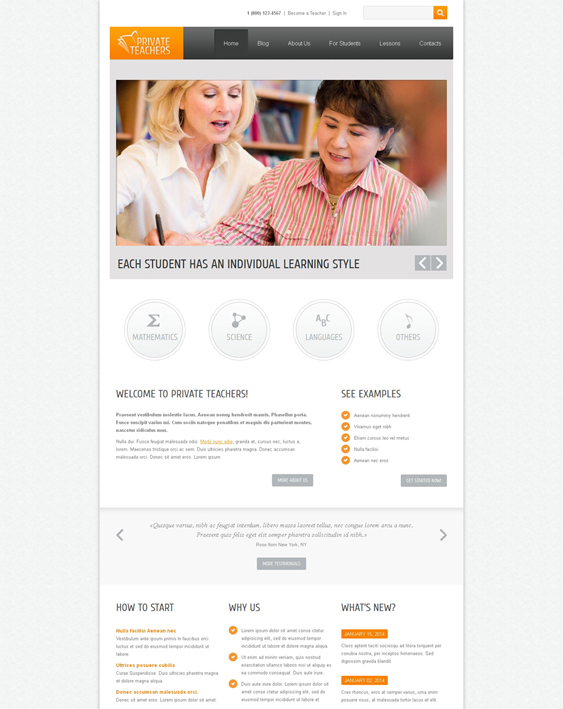 education drupal themes
