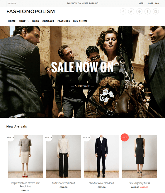 fashionopolism secret shopify themes clothing stores