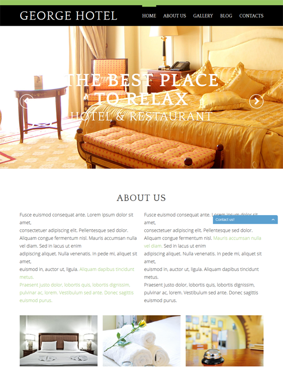 hotels hotel drupal themes