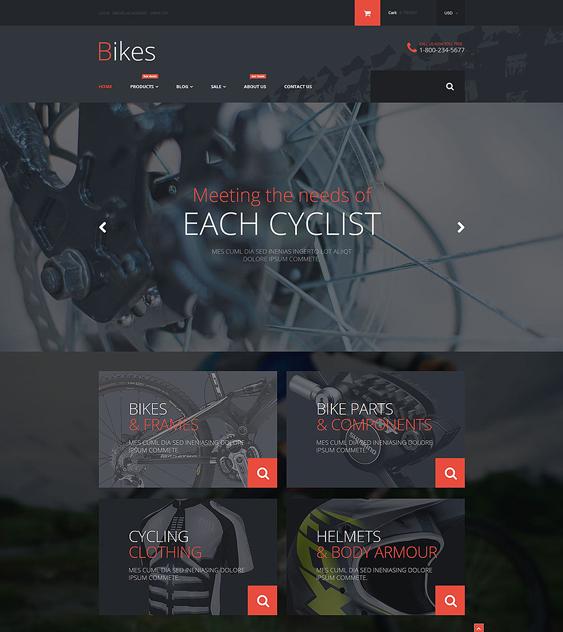 bike dark shopify themes