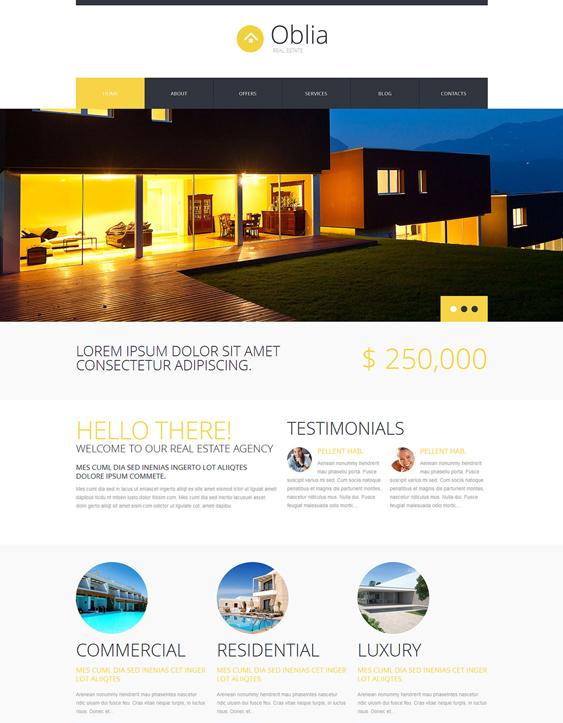 dream house real estate wordpress themes