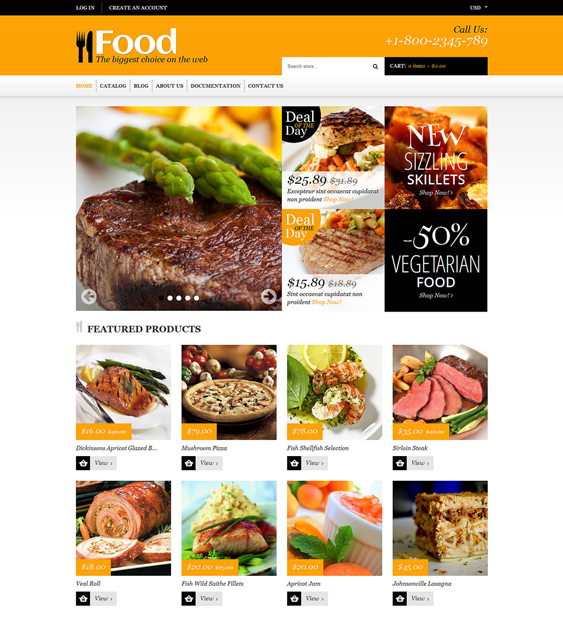 store1 food drink shopify themes