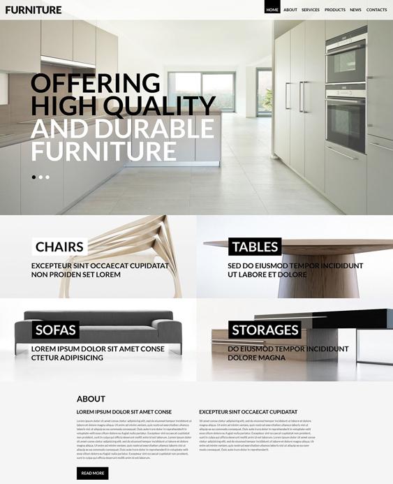 wordpress furniture themes for