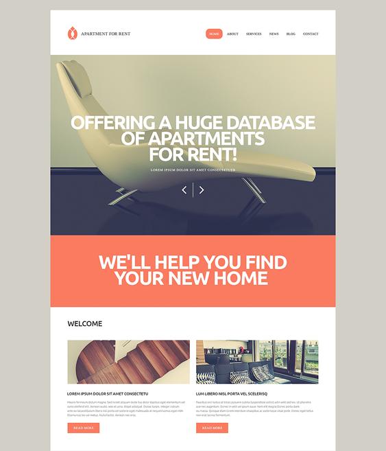 rental real estate wordpress themes