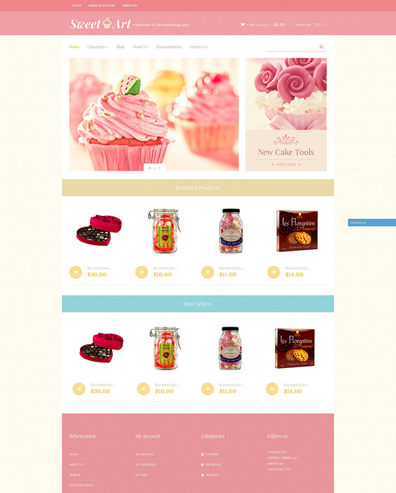 sweet shop food drink shopify themes