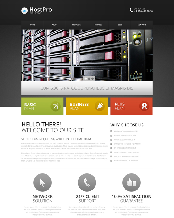 web hosting drupal themes