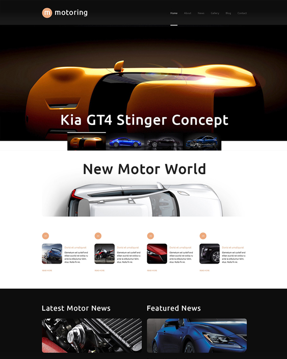 car vehicle automotive wordpress themes club1