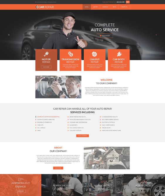 car vehicle automotive wordpress themes and bikes