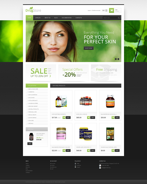 drugstore medical shopify themes 2