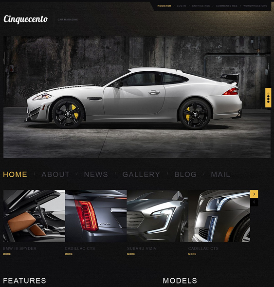 elegant1 car vehicle automotive wordpress themes