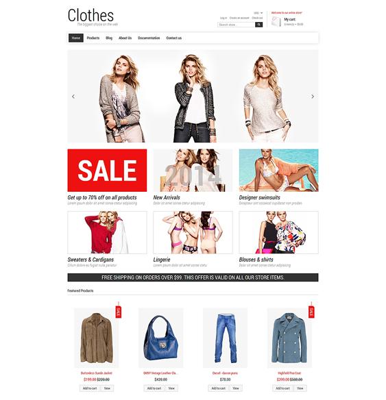 fashion minimal shopify themes 3