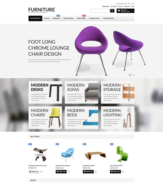 furniture magento themes