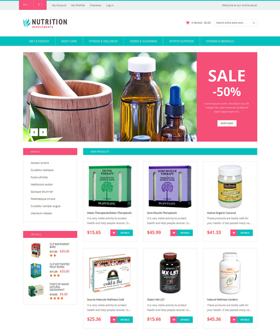 healthy medical magento themes