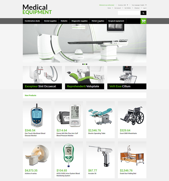 medical magento themes 1
