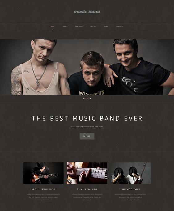 band2 music wordpress themes