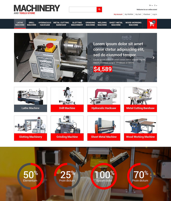 tools hardware home improvement magento themes