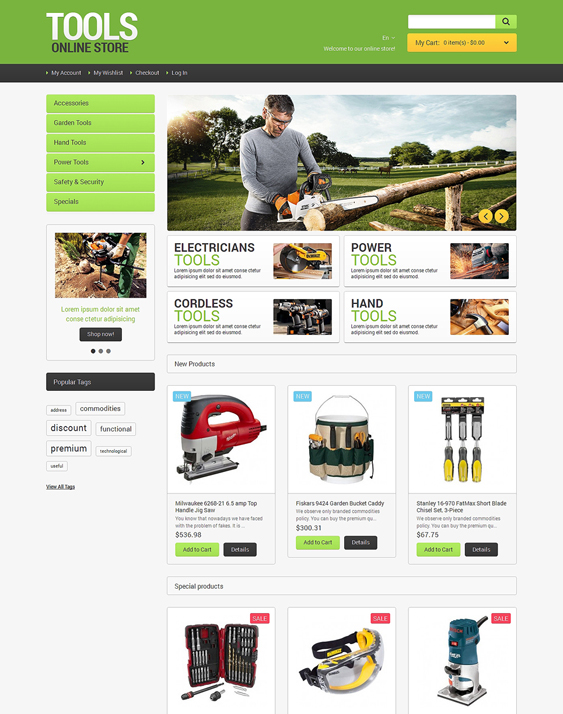 tools3 hardware home improvement magento themes