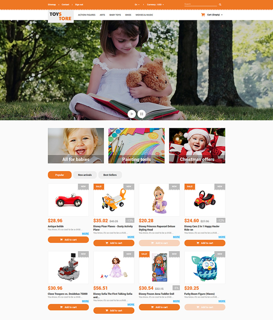 toys for kids prestashop themes
