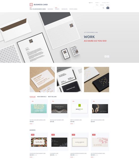business minimal magento themes
