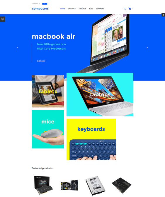 computers responsive virtuemart themes
