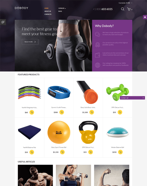 dobody responsive virtuemart themes