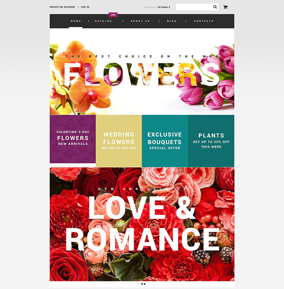 flowers responsive virtuemart themes
