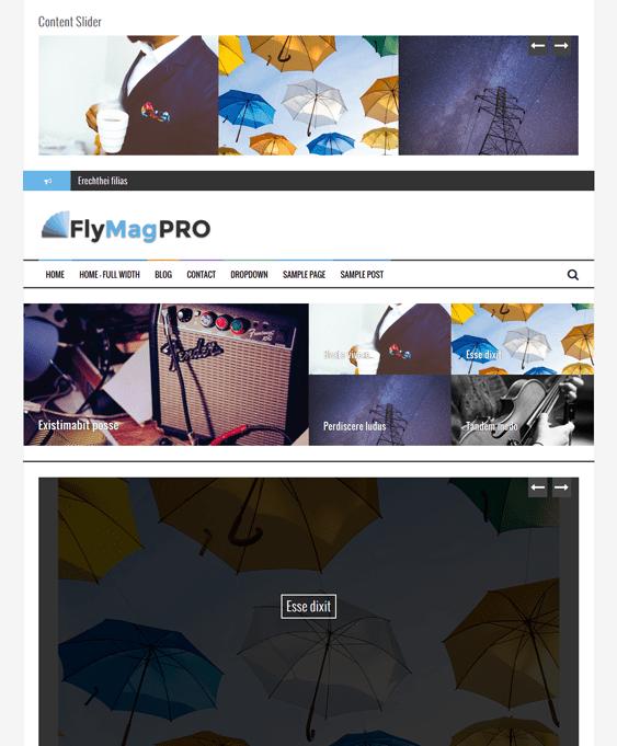 flymag news magazine wordpress themes