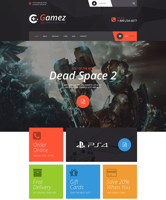 gamez responsive virtuemart themes