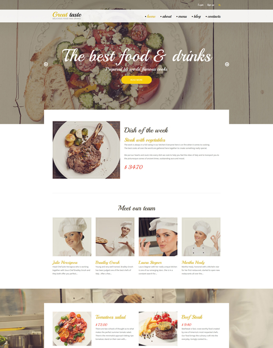 great taste clean drupal themes
