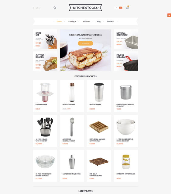 housewares responsive virtuemart themes