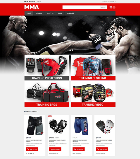martial responsive virtuemart themes