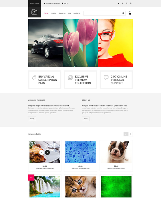 photo responsive virtuemart themes