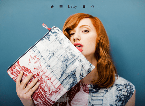 showcase betty handbags purses shopify themes