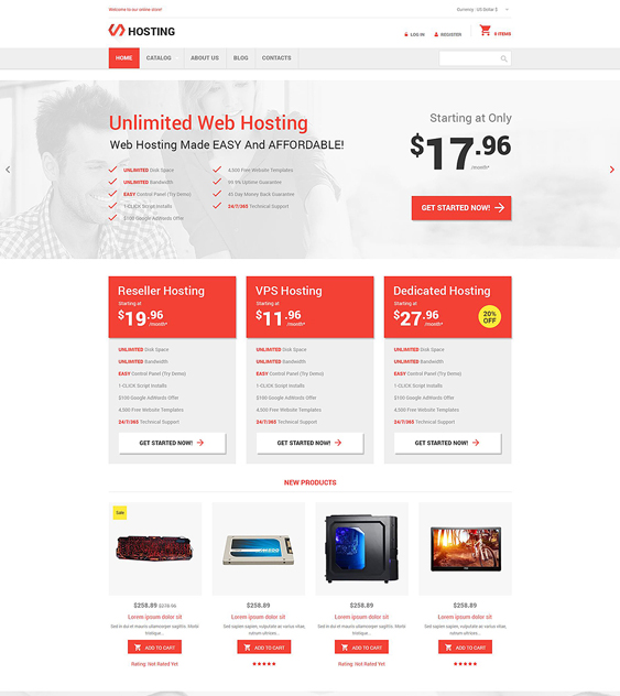unlimited responsive virtuemart themes