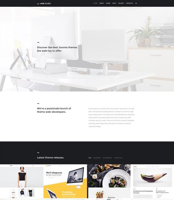 web studio minimal joomla templates