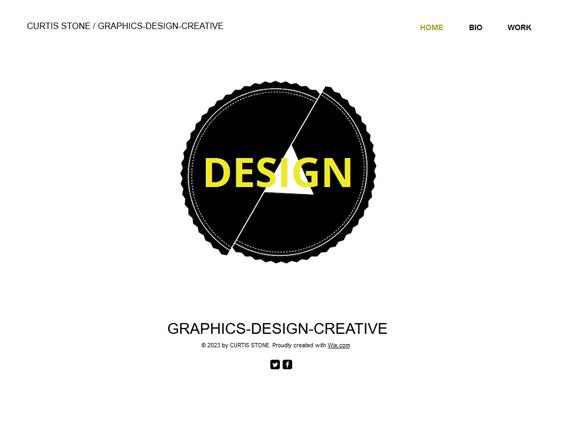 design portfolio wix templates