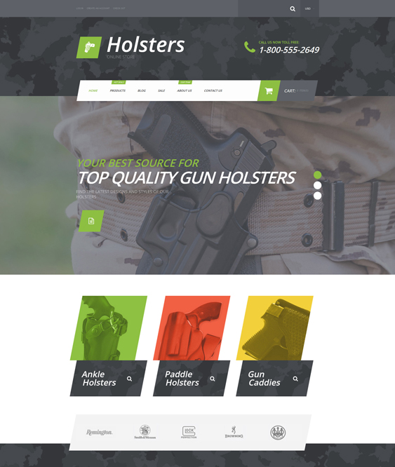holsters sports shopify themes