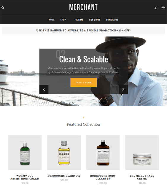 merchant cosmetics beauty products bigcommerce themes