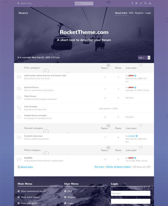 nuance responsive phpbb3 themes