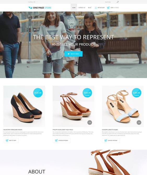 shoe responsive shopify themes