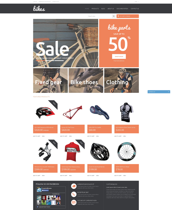 shopping sports shopify themes