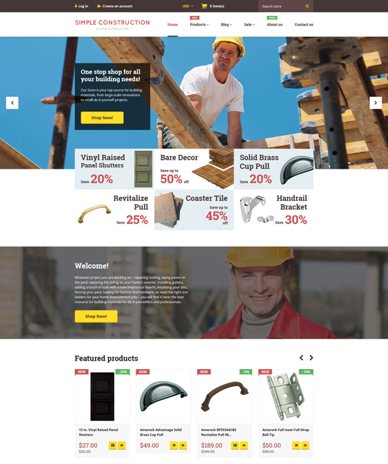 simple responsive shopify themes