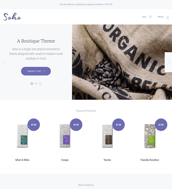 soho clean bigcommerce themes
