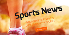 more best sports wordpress themes feature