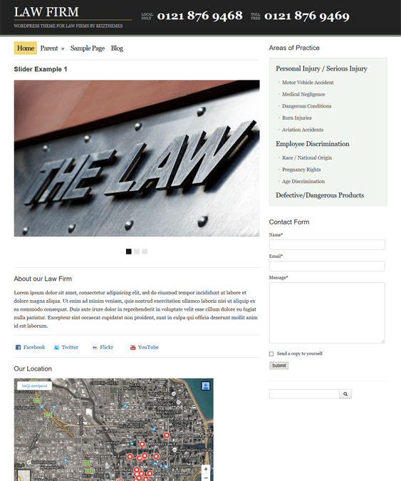 law firm lawyer attorney wordpress themes