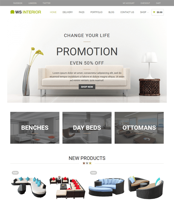 ws interior design wordpress themes