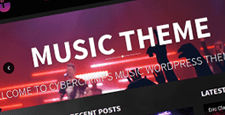 more best music wordpress themes feature